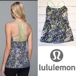 Lululemon Dancing Warrior Floral Tank 4